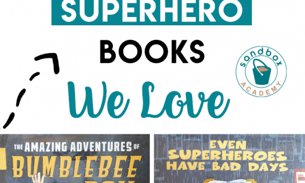 Superheroes – 5 Books We Love