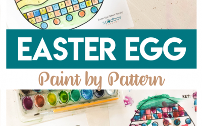 Pattern Recognition for Preschoolers – Easter Color By Pattern