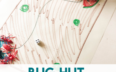 Bug Hut – Subtraction Game for Preschoolers