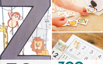 Zoo Theme Activities for Preschoolers