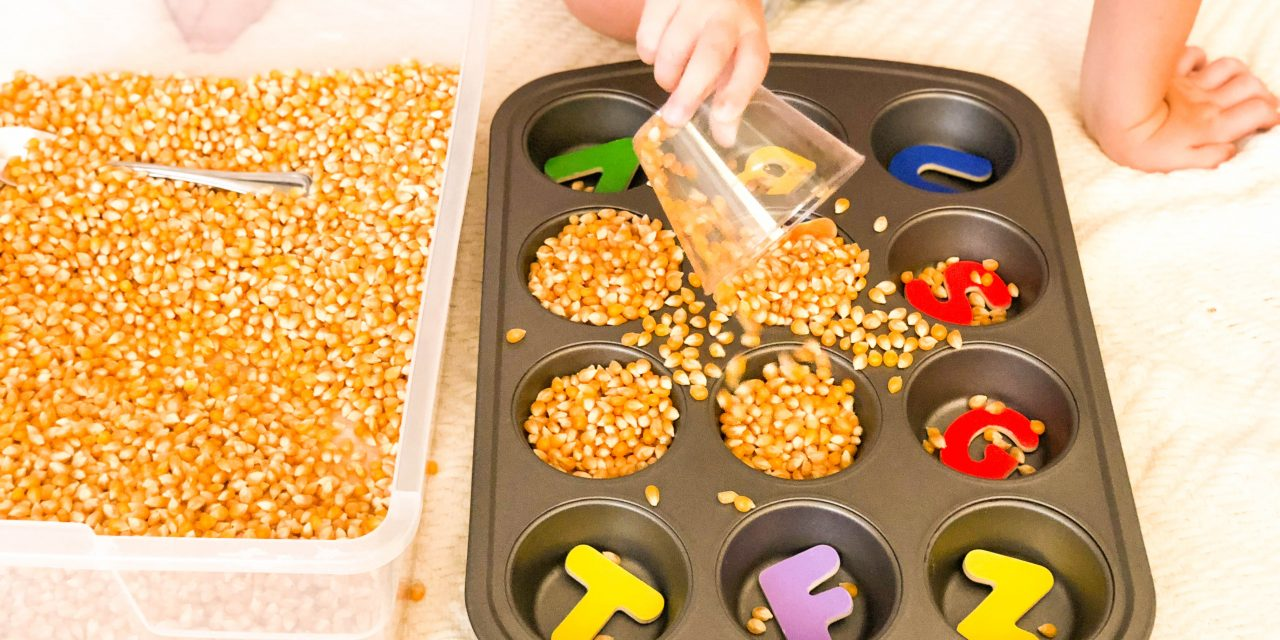 How to be Successful with Sensory Bins