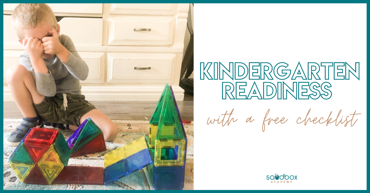 What Skills are Needed for Kindergarten
